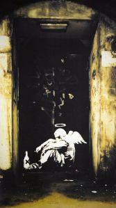 Angel by Banksy