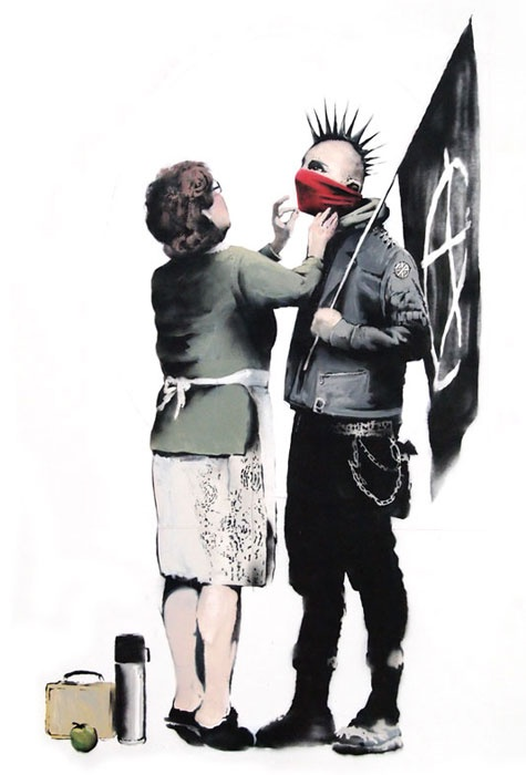 Black Flag by Banksy