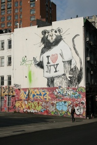 I Love NY by Banksy