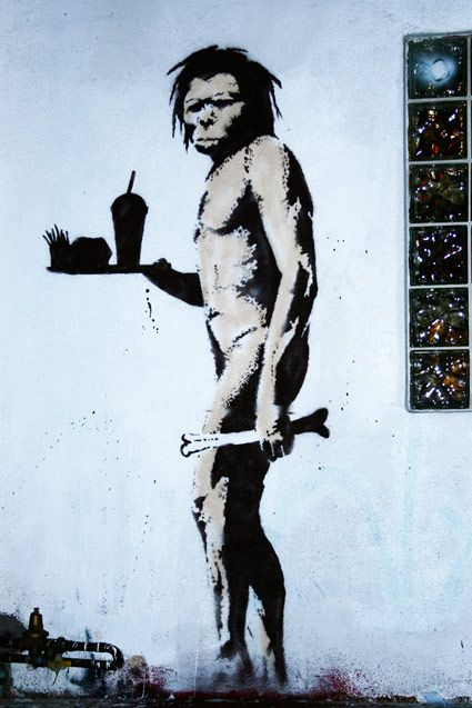 Modern Man By Banksy