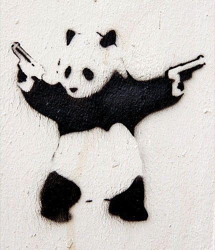 Panda By Banksy