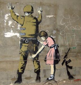Protect Me by Banksy