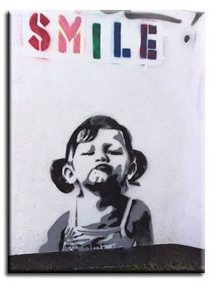 SMILE by Banksy