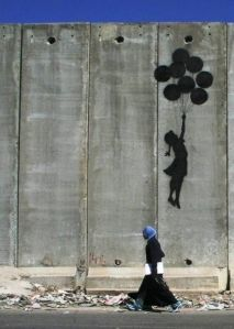 Freedom at West Bank By Banksy