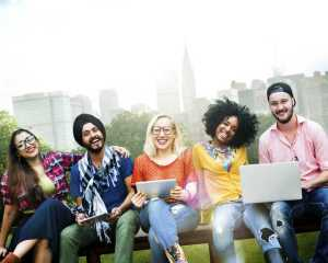 Tech sets Millennials apart, tech brings them together